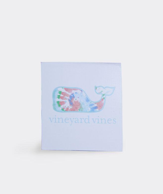 Tie-Dye Swirl Sticky Notes