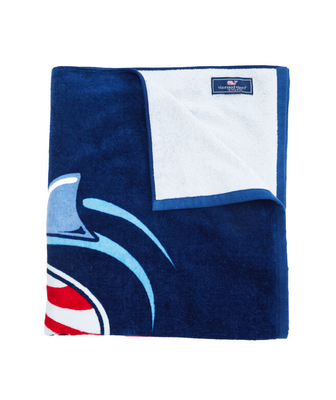Shark Week Surf Attack Towel