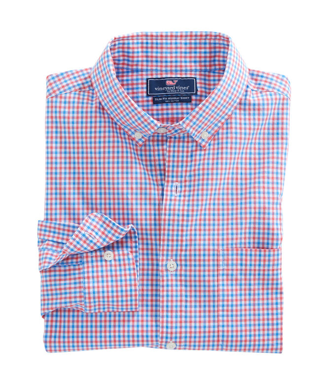 Point Gammon Gingham Slim Murray Shirt