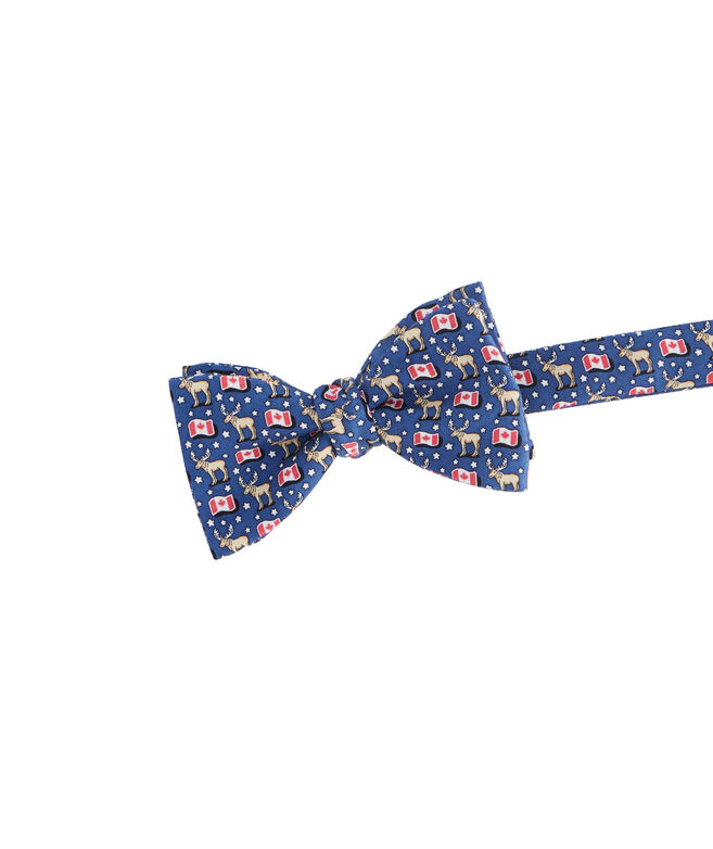 5592310c Shop Canada Flags Bow Tie at vineyard vines