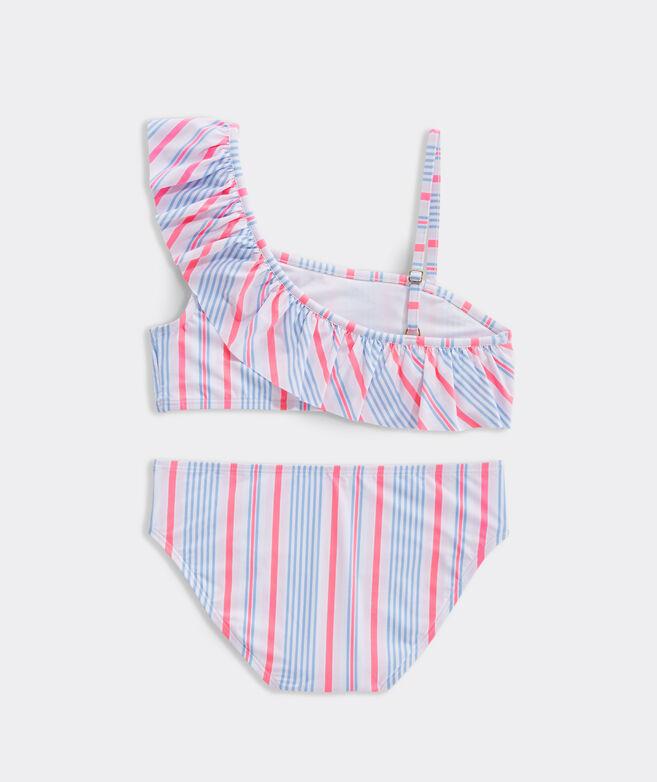Girls' Abacos Stripe Bikini