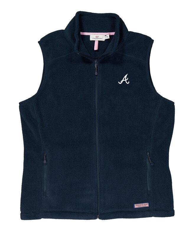 Atlanta Braves Womens Westerly Vest