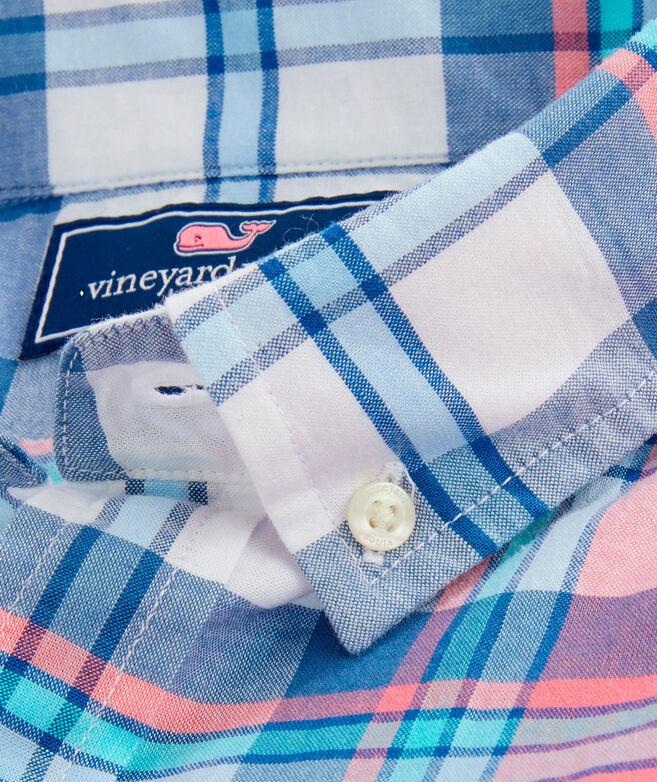 OUTLET Men's Breakpoint Plaid Poplin Slim Whale Shirt