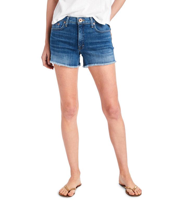 Made in the USA Indigo Denim Shorts