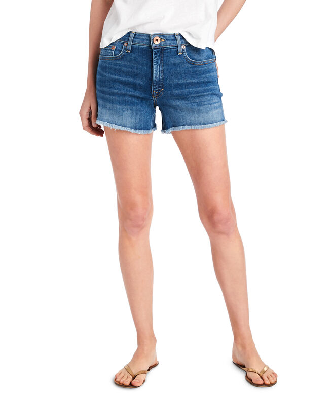 Made in the USA Indigo Denim Shorts