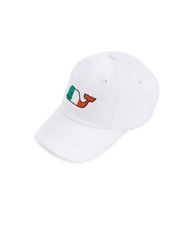 Little Kids Irish Flag Whale Hat