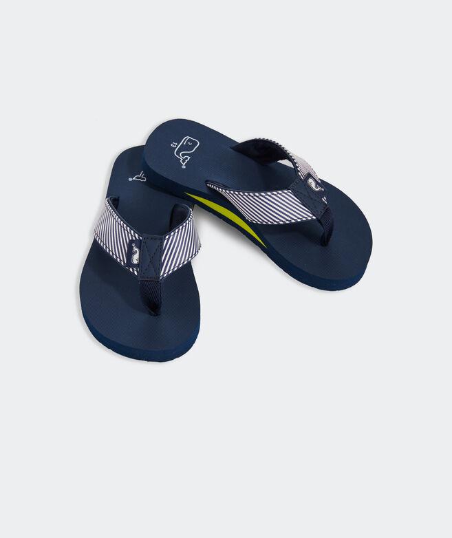 Boys' Stripe Classic Flip Flops