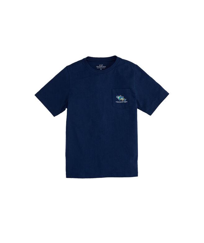 Boys Tuna Icon Fill Short-Sleeve Pocket T-Shirt