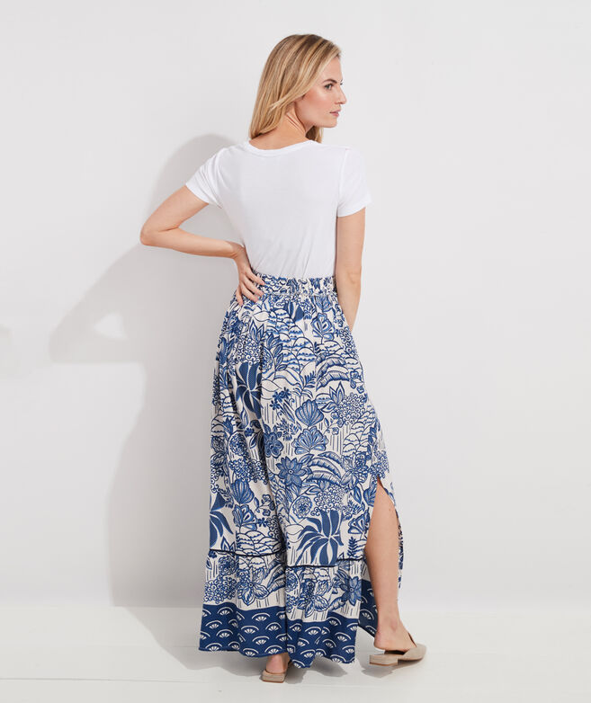 vv x Tuckernuck Botanical Maxi Skirt