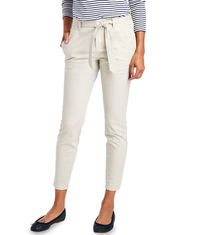 High Waisted Utility Pants