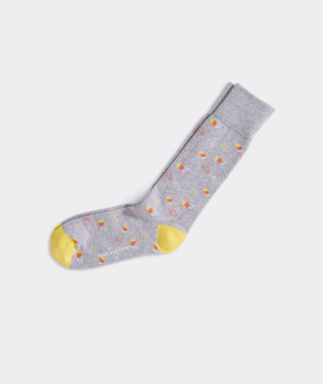 Candy Corn Icon Socks