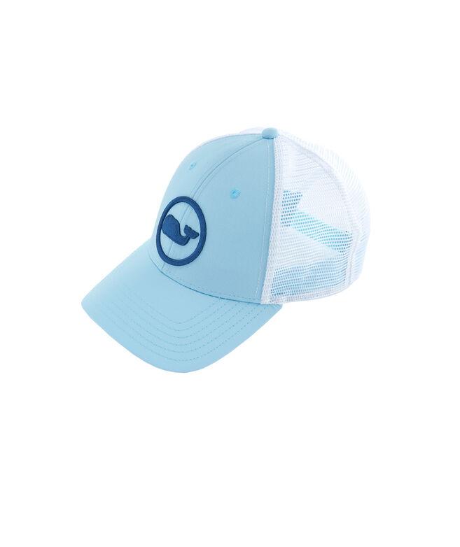Shop Whale Dot Performance Trucker Hat at vineyard vines 783af93efb26