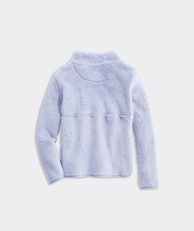 Girls' Plush Teddy Fleece 1/2-Zip