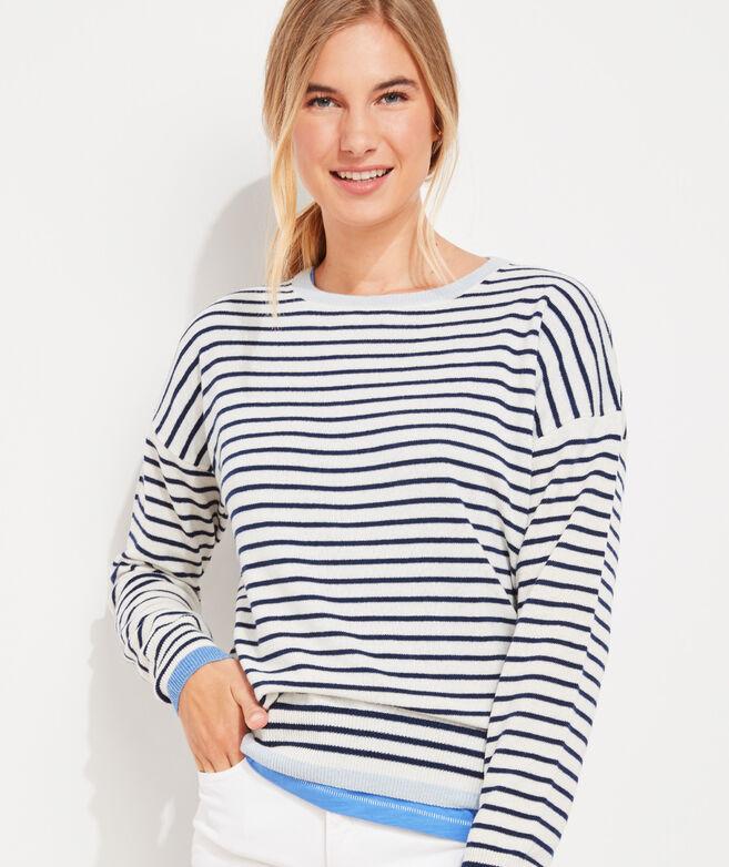 Pop Cashmere Fine Gauge Sweater