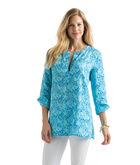 Starfish & Coral Print Tunic