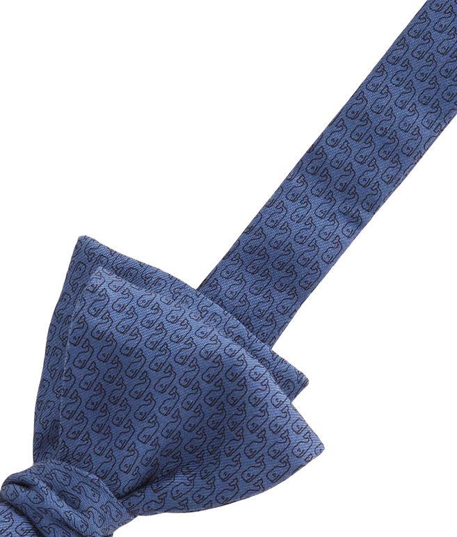Tonal Whale Bow Tie