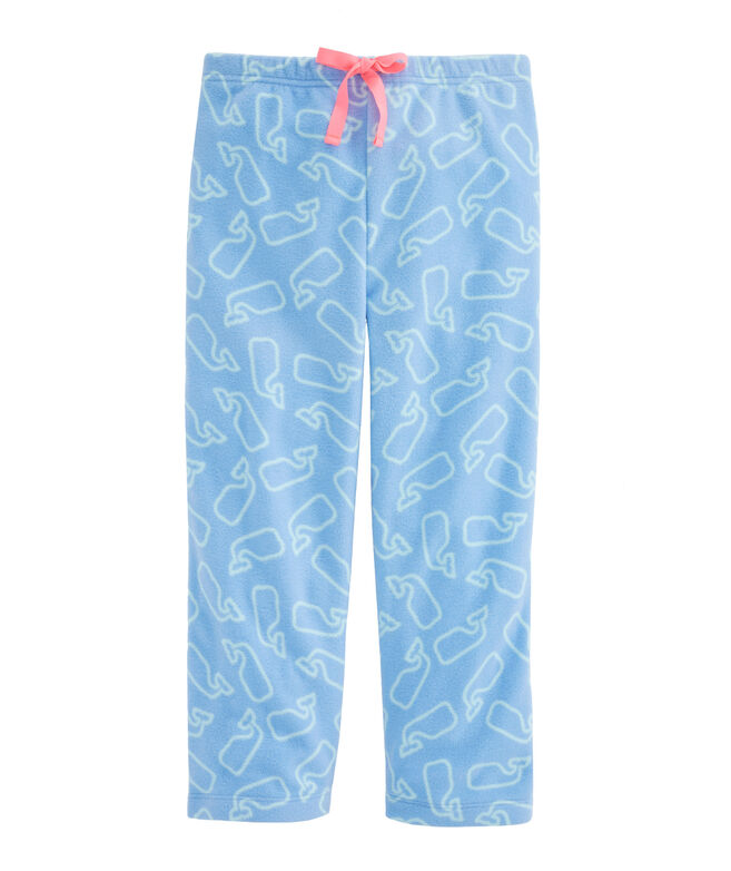 Girls Printed Fleece Lounge Pants