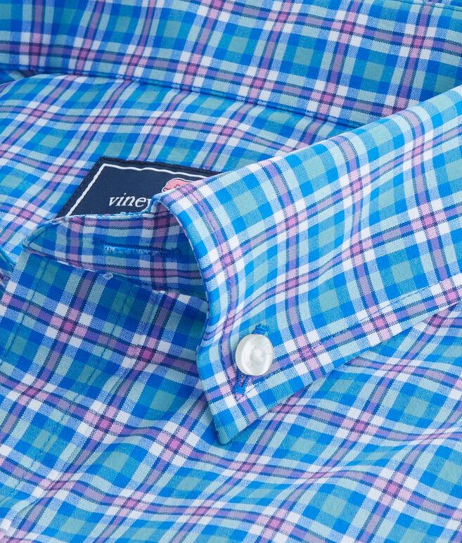 Union Pier Plaid Performance Classic Tucker Shirt