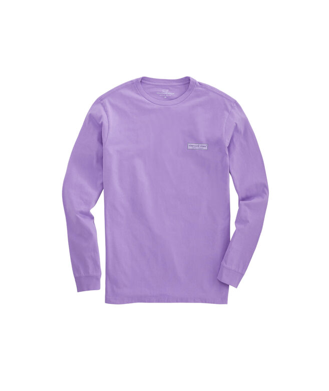 Long-Sleeve Vineyard Logo Box T-Shirt