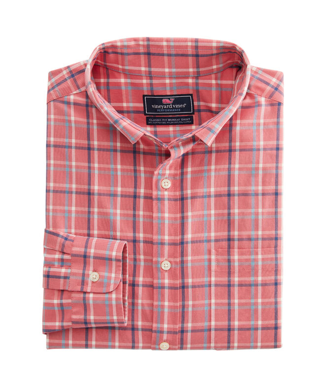 Classic Fit Bora Cotton Performance Murray Shirt