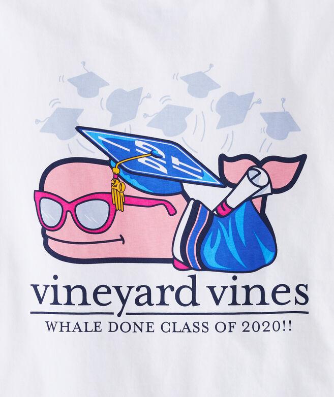 Women's Class Of 2020 Graduation Whale Long-Sleeve Pocket Tee