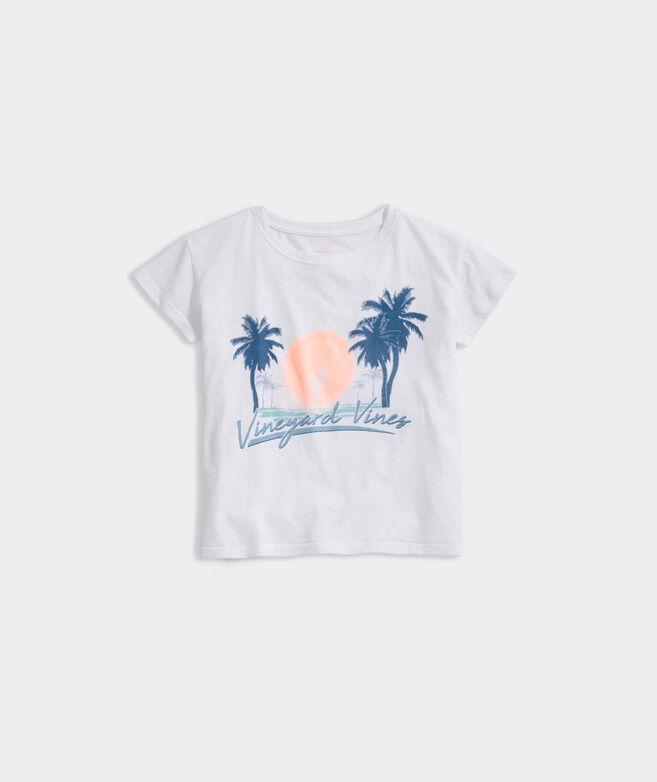 Girls' Palm Graphic Surftee