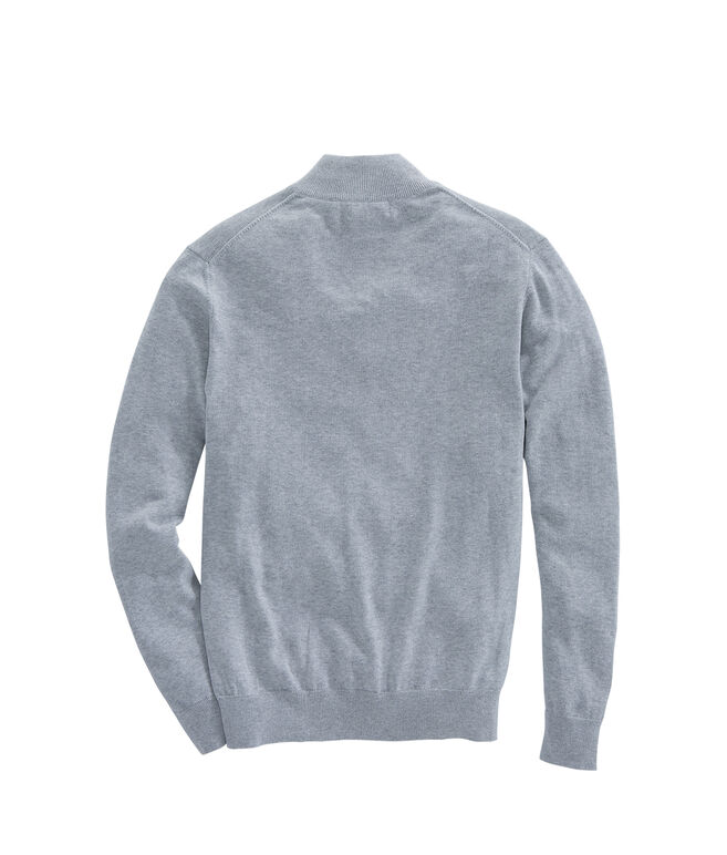Mens 1/4-Zip Mock Neck