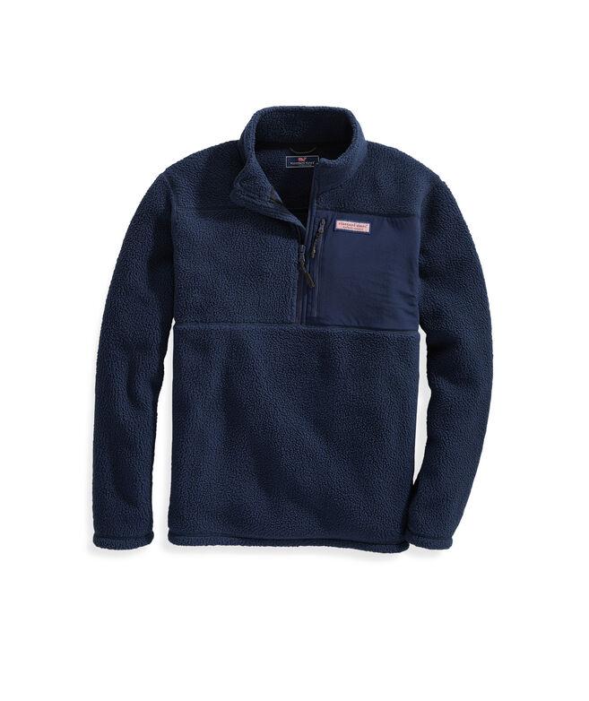 Stillwater Chest Pocket Sherpa 1/2-Zip Pullover