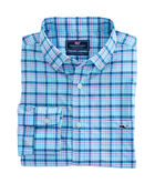 Oyster Point Plaid Performance Classic Tucker Shirt