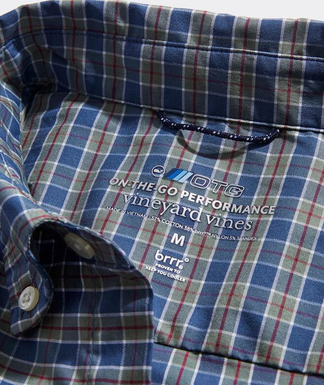 On-The-Go brrr° Plaid Shirt