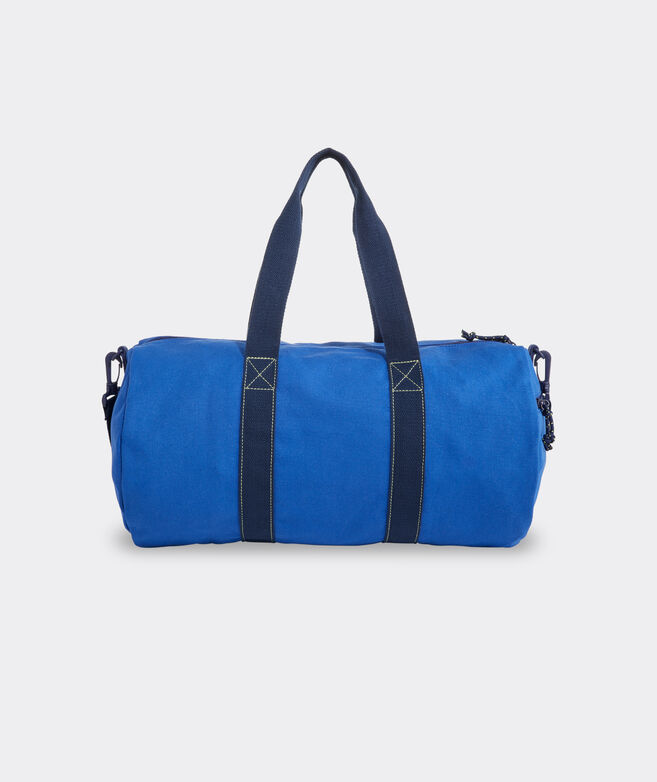 Boys' Pop Stripe Canvas Duffle Bag
