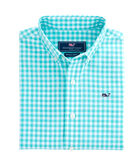 Boys Great Harbour Gingham Whale Shirt