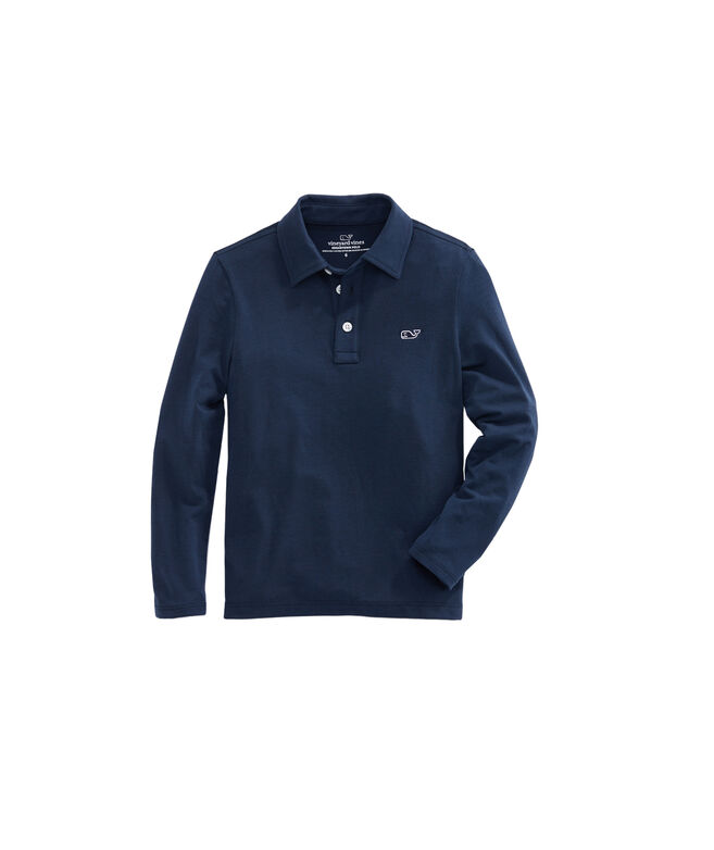Boys Long-Sleeve Edgartown Polo