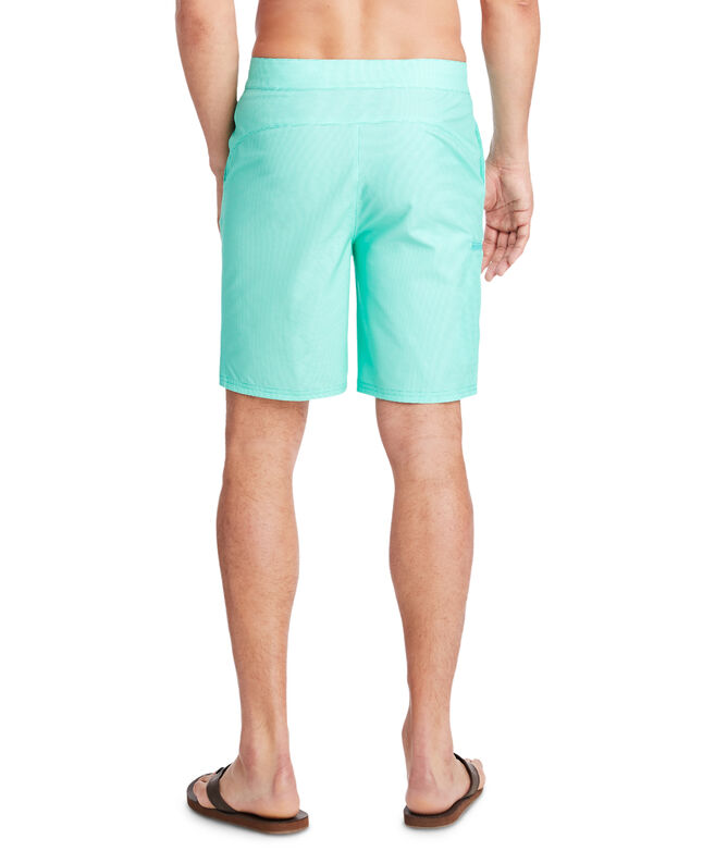 Fine Line Stripe Stretch Board Shorts