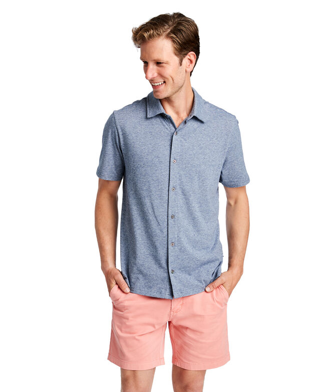 Full Button Edgartown Polo