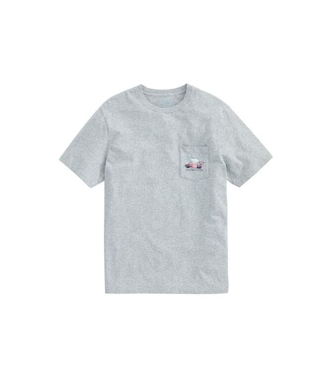 BBQ Whale Pocket T-Shirt