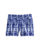 Girls Watercolor Lines Performance Tumble Shorts