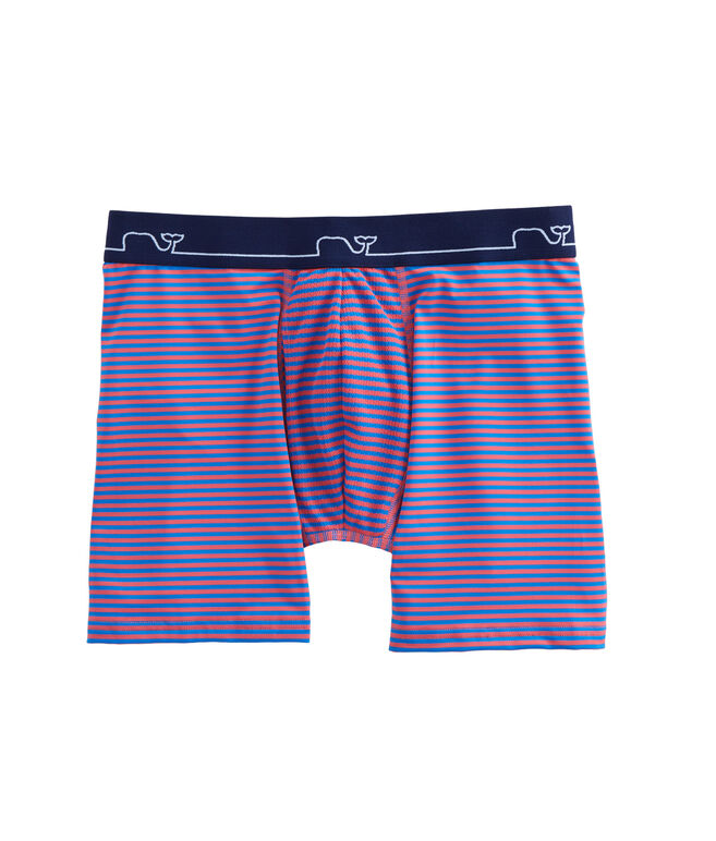 Striped Performance Boxer Briefs