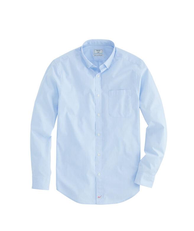 Yale Co-Op Fine Stripe Classic Murray Shirt