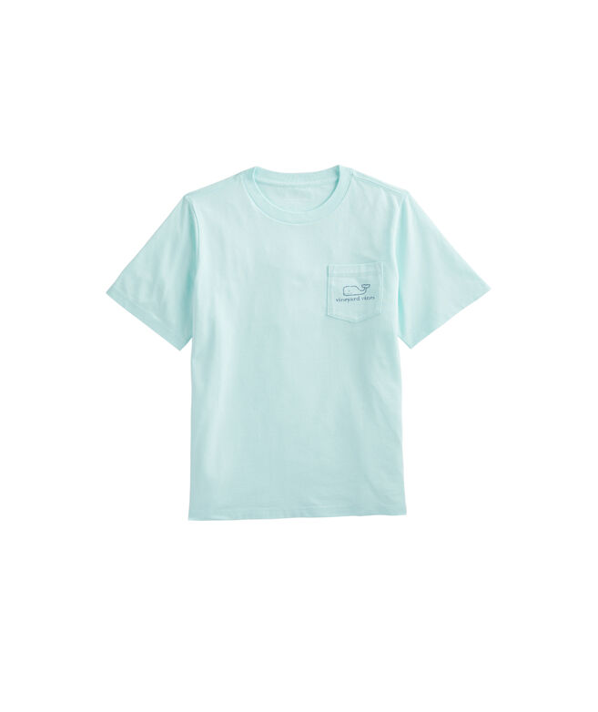Boys' Sunkissed Vintage Whale Short-Sleeve Pocket Tee