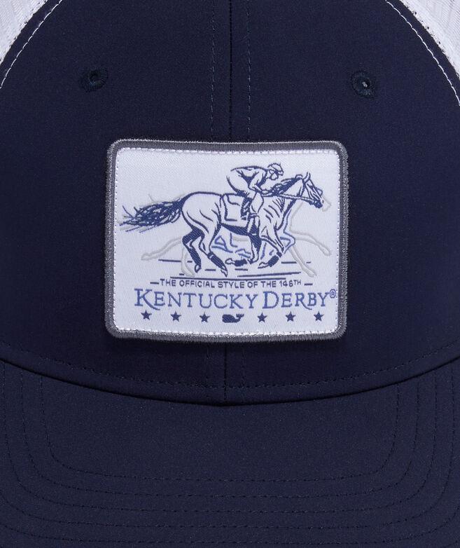 Kentucky Derby Galloping Horse Performance Trucker Hat