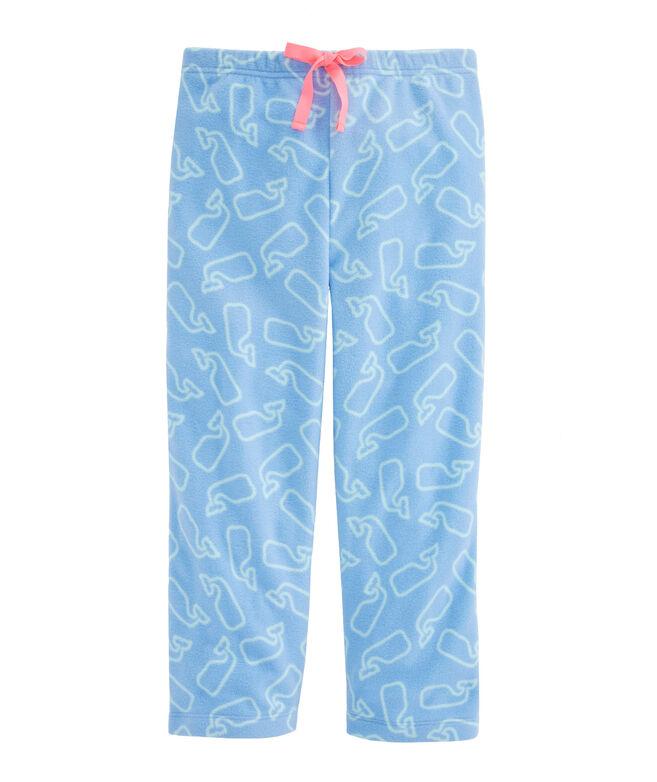 Girls Printed Fleece Lounge Pants