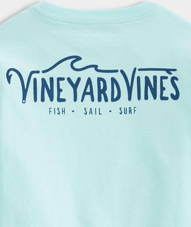 Boys' Fish. Sail. Surf. Short-Sleeve Performance Tee