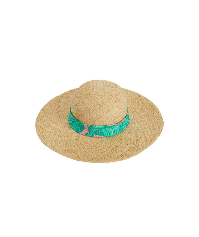 Banana Leaf Bow Sun Hat