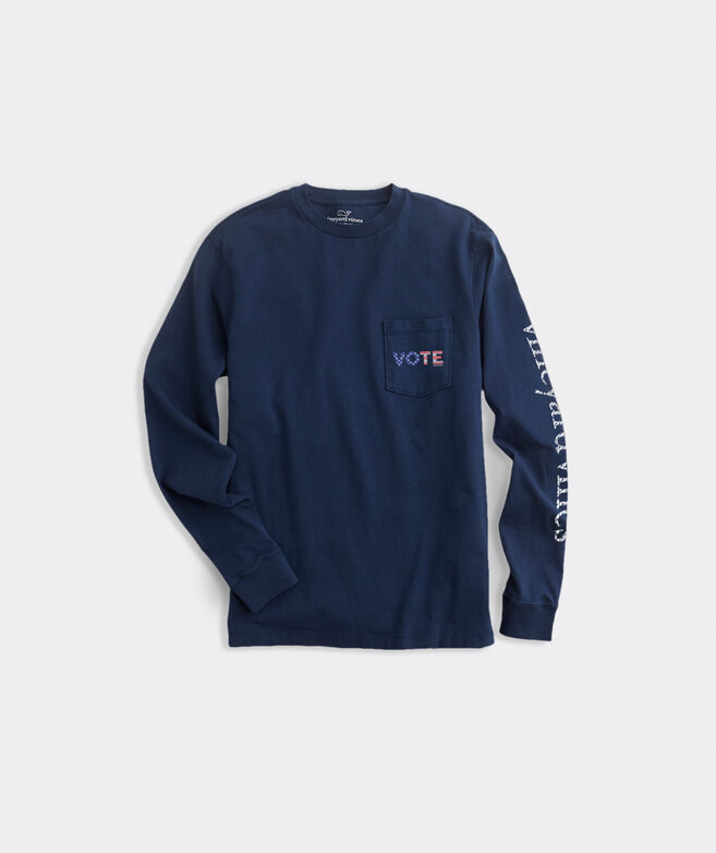 Limited-Edition 2020 VOTE Long-Sleeve Pocket Tee