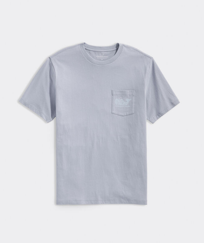Waves Whale Fill Short-Sleeve Pocket Tee