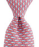 Blue Fish Tie