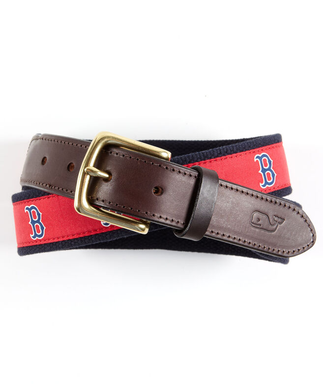 Boston Red Sox Canvas Club Belt