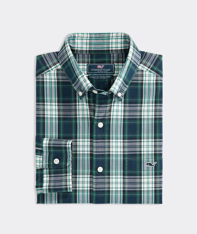 Classic Fit Poplin Tucker Shirt
