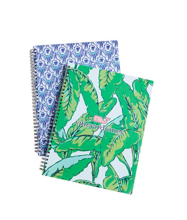 Banana/Scallop Large Notebook Set